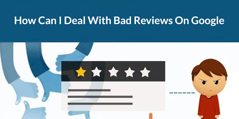 Deal with negative reviews