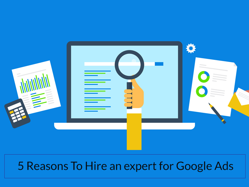 Hire an expert for Google Ads